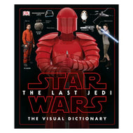 Star Wars: The Last Jedi The Visual Dictionary Hardcover Book