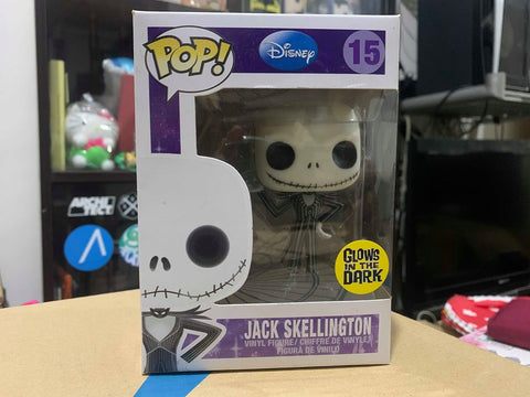 Nightmare Before Christmas Jack Skellington Glow in the Dark Pop! Vinyl Figure