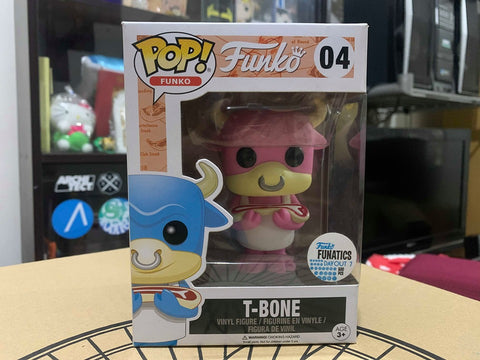 Funko T-Bone (Pink) Pop! Vinyle Figure FDO 7 Exclusive
