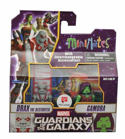 Minimates Guardians of the Galaxy Drax the Destroyer & Gamora 2-Pack