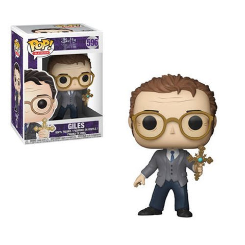 Funko Buffy the Vampire Slayer Giles 25th Anniversary Pop! Vinyl Figure #596 Kramer Toy Warden Greenhills, Alabang Mall, Philippines