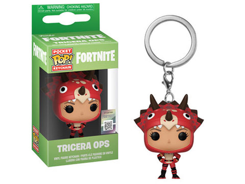 Funko Fortnite Tricera Ops Pocket Pop! Key Chain Kramer Toy Warden Greenhills, Alabang Mall, Philippines