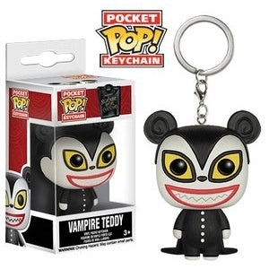 Funko Nightmare Before Christmas Vampire Teddy Pocket Pop! Vinyl Figure Key Chain Kramer Toy Warden Greenhills, Alabang Mall, Philippines