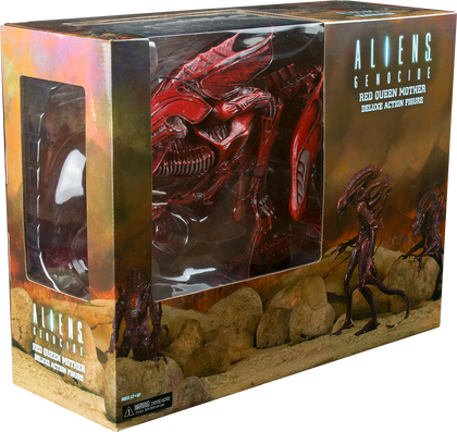 Aliens - Ultra Deluxe action figure - Genocide Red Queen