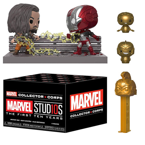 Marvel Collector Corps - Marvel Studios First 10 Years Funko Collector Boxset