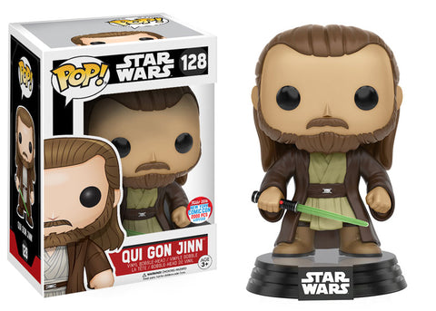 Funko Pop! Qui Gon Jinn New York Comic Con Exclusive Vinyl Figure #128