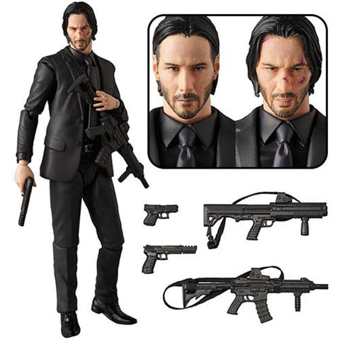 Preorder John Wick MAFEX Action Figure PO P3750