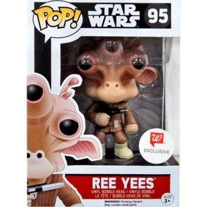 Funko Star Wars REE YEES Walgreen Exclusives Pop! Vinyl Figure Kramer Toy Warden Greenhills, Alabang Mall, Philippines