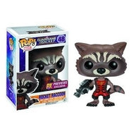 Guardians of the Galaxy RAVAGERS ROCKET RACCOON Pop! Previews Exclusives Vinyl Bobble Figure