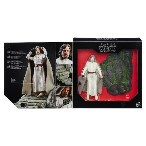 Star Wars The Black Series Luke Skywalker (Jedi Master) on Ahch-To Island Action Figure Exclusive