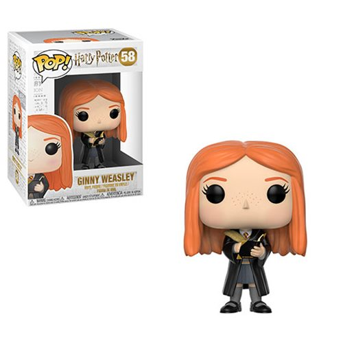 Preorder Harry Potter Ginny Weasley with Diary Pop! Vinyl Figure #58 PO P595