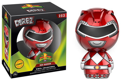 Mighty Morphin' Power Rangers Red Ranger Dorbz Figure CHASE