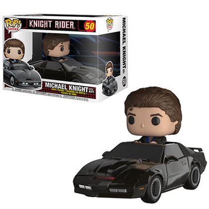 Knight Rider w/ Kitt Pop! Rides Vinyl Figure