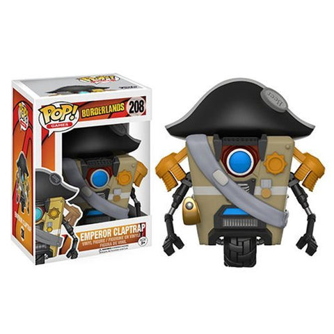Borderlands Emperor Claptrap Pop! Vinyl Figure