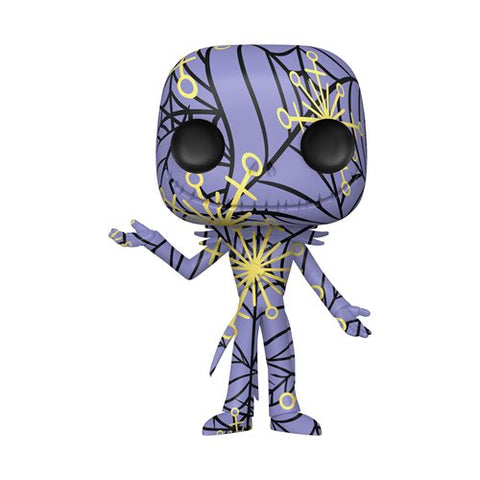 Preorder The Nightmare Before Christmas Jack Skellington Artist's Series Pop! Vinyl Figure with Pop! Protector Case PO TBA
