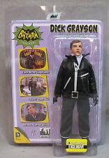 Batman Classic 1966 TV Series DICK GRAYSON Undercover Agent Variant 8-Inch action figure Exclusive.