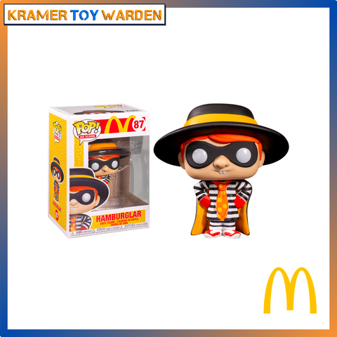 Funko Pop! McDonald's Hamburglar Pop! Vinyl Figure