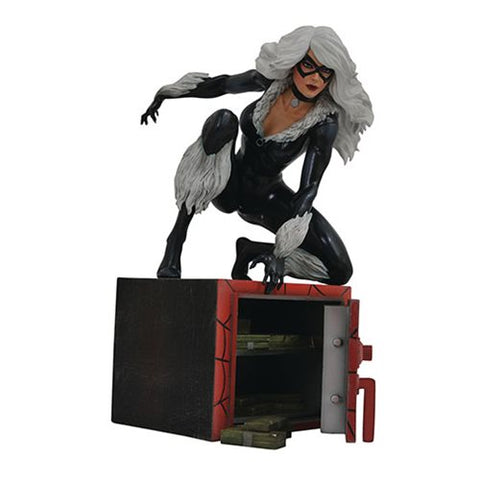 Spider-Man Marvel Comic Gallery Black Cat Statue