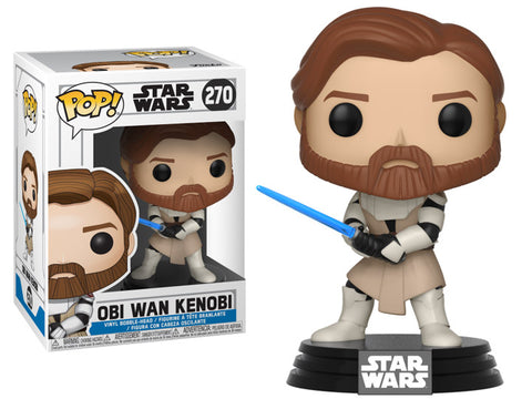 Funko Star Wars: Clone Wars Obi Wan Kenobi Pop! Vinyl Figure Kramer Toy Warden Greenhills, Alabang Mall, Philippines