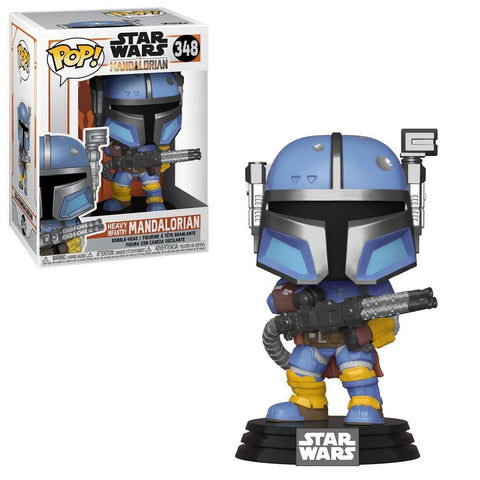 Star Wars: The Mandalorian Heavy Infantry Mandalorian Pop! Vinyl Figure