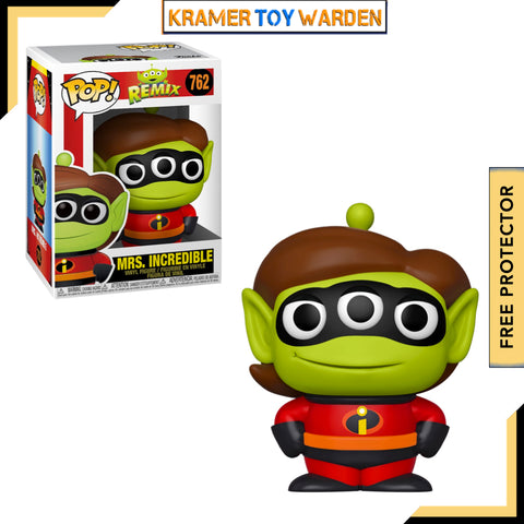 Pixar Alien Remix ELASTIGIRL Pop! Vinyl Figure # 762