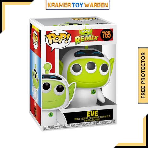 Pixar Alien Remix EVE Pop! Vinyl Figure # 765