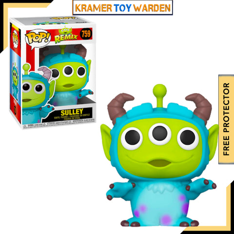 Pixar Alien Remix SULLEY Pop! Vinyl Figure # 759