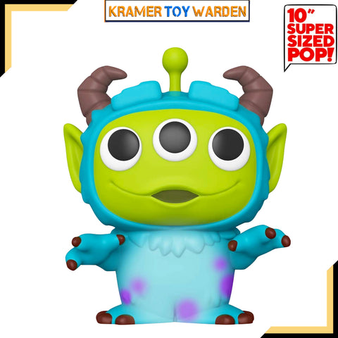 Pixar Alien Remix SULLEY 10-inch Pop! Vinyl Figure # 766