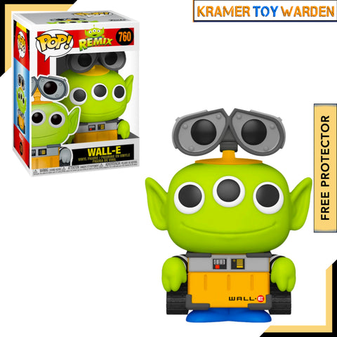 Pixar Alien Remix WALL-E Pop! Vinyl Figure # 760