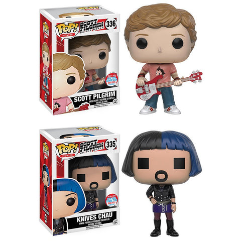 Scott Pilgrim & Knives Chau New York Comic Con Exclusive Set of 2 Pop! Vinyl Figures