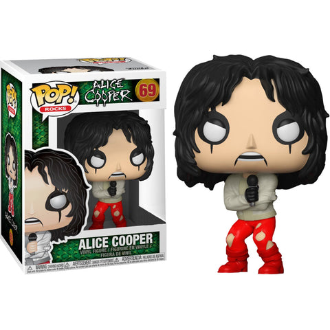 Funko Pop Rocks: Alice Cooper in Straight Jacket Pop! Vinyl Figure Kramer Toy Warden Greenhills, Alabang Mall, Philippines