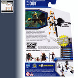 "Star Wars The Clone Wars COMMANDER CODY 3.75"" Action Figure - CW03"
