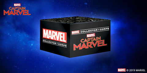 Marvel Collector Corps - Captain Marvel (XS) Collector Boxset