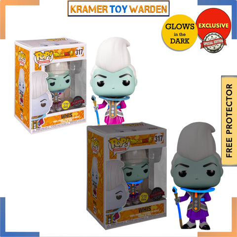 Dragon Ball Super WHIS Glow-in-the Dark Exclusive Pop! Vinyl Figure # 317