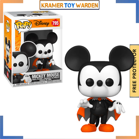 Disney Halloween Spooky Mickey Pop! Vinyl Figure # 795