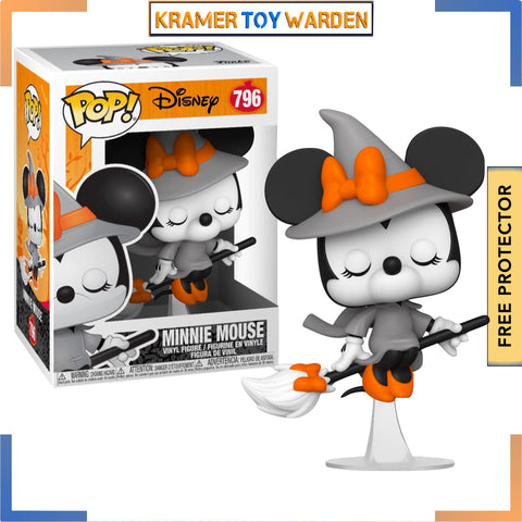 Disney Halloween Witchy Minnie Mouse Pop! Vinyl Figure # 796