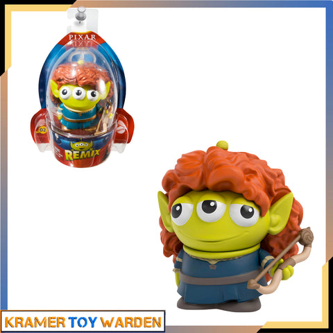 Disney Pixar Toy Story Alien Remix Series 1 Merida