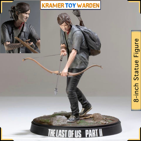 "The Last of Us Part II: Ellie with Bow 8"" Statue Figure"