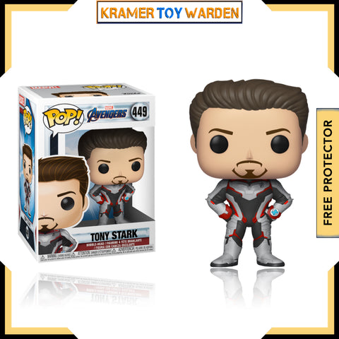 Avengers Endgame: Tony Stark Teamsuit Pop! Vinyl Figure