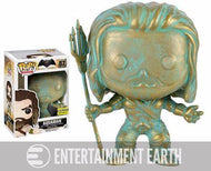 Batman v Superman Aquaman Patina Pop! Vinyl Figure - EE Exclusive