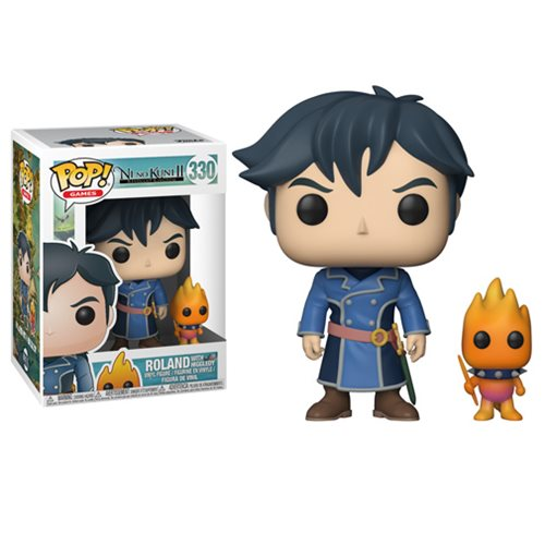Ni No Kuni 2 Roland with Higgledy Pop! Vinyl Figure #330