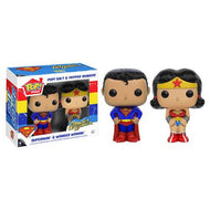 Superman and Wonder Woman Pop! Home Salt & Pepper Shakers