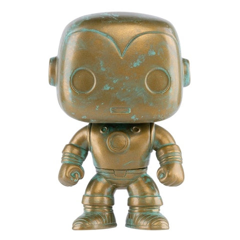 Marvel 80th First Appearance Patina Iron Man Exclusive Pop! Vinyl Figure
