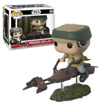 Star Wars Princess Leia on Speeder Bike Deluxe Pop! Vinyl Bobble Head