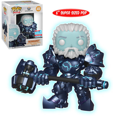 Funko Overwatch - Reindhardt (Coldhardt) 6 inch Pop! Vinyl Figure 2018 Fall Convention Exclusive Kramer Toy Warden Greenhills, Alabang Mall, Philippines