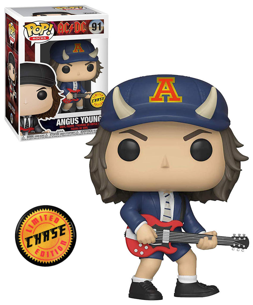 ROCKS VINYL FIGURE FREE USA SHIPPING AC//DC ANGUS YOUNG FUNKO POP