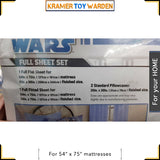 Star Wars Clone Wars Full Bed Sheet 4-piece Set by Jay Franco & Sons