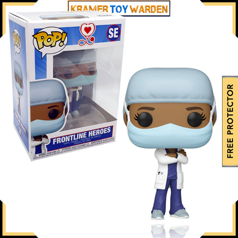 Front Line Worker Female Hospital Worker #2 Pop! Vinyl Figure