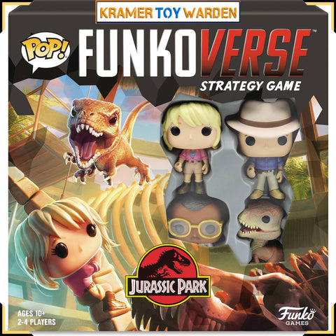 Jurassic Park (Base) Funkoverse Strategy Game #100