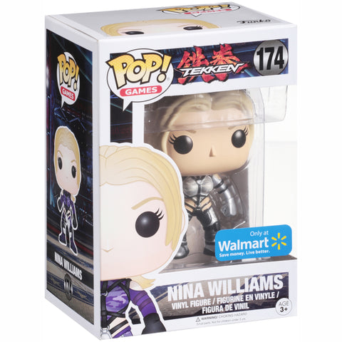 Funko Tekken Nina Williams Walmart Exclusive Pop! Vinyl Figure Kramer Toy Warden Greenhills, Alabang Mall, Philippines